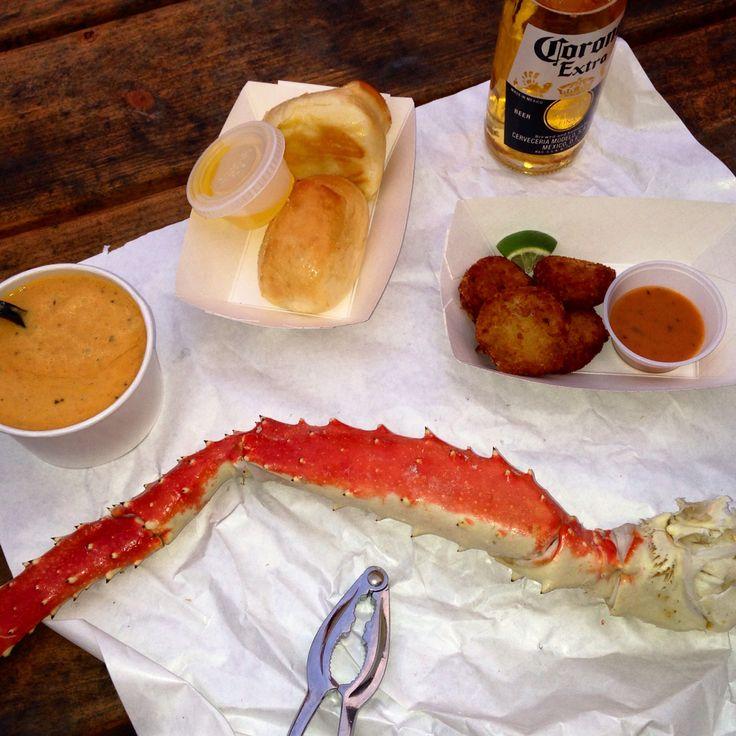 Tracy's Crab Shack in Juneau, Alaska.