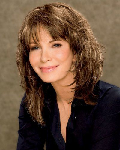 cute medium length shag hairstyles for women over 50