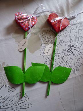 Je vous montre ce que mes filles et les enfants que j'ai en garde ont fabriqué pour la fête des mamies avec l'aide de nounou pour les plus...