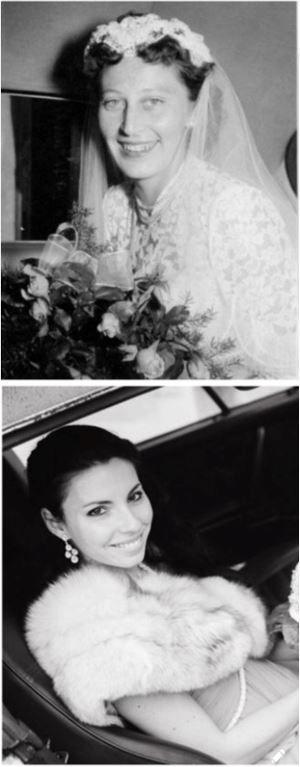 knapp 50 Jahre liegen zwischen diesen beiden Hochzeitsbildern und zeigen Großmutter und Enkelin. Ein Plädoyer dafür, dass jedes Brautpaar den großen Tag in einer Hochzeitsreportage festhalten sollte!
