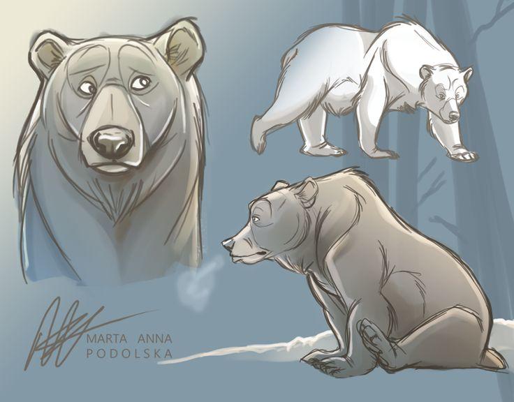 Bear Study by ISHAWEE on DeviantArt