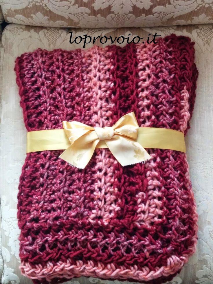 Lo provo io: Finger Crochet - Plaid morbido e caldo fatto con un dito!!