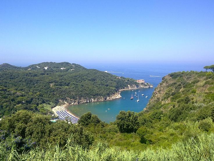 View of San Montano Bay - Ischia (Naples)