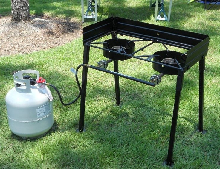 Outdoor Deep Fryer Aluminum Propane Gas Turkey Cooker Stainless Steel Fish Dual