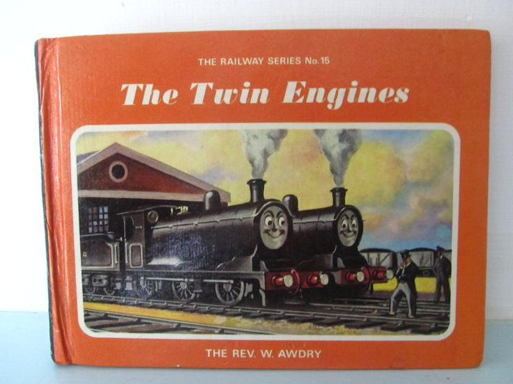 Thomas the tank engine vintage book, The twin engines thomas book, 1970s thomas book, Thomas book, by thevintagemagpie01 on Etsy