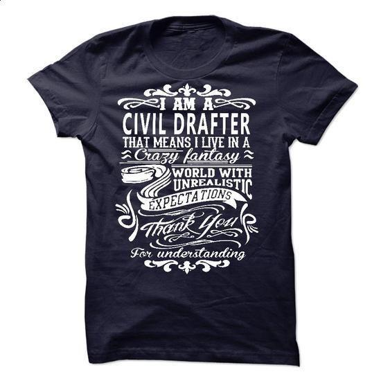 I am a Civil Drafter - #mens shirt #tumblr sweatshirt. SIMILAR ITEMS => https://www.sunfrog.com/LifeStyle/I-am-a-Civil-Drafter-18067325-Guys.html?68278