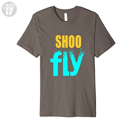 Mens Funny Shoo Fly Graphic T-Shirt for Annoyed People 2XL Asphalt - Funny shirts (*Amazon Partner-Link)