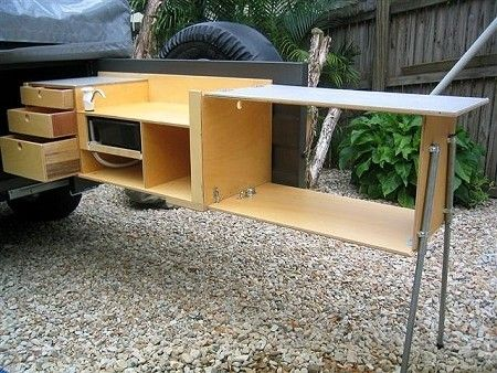 find this pin and more on camping trailer ideas by skempert - Camping Kitchen Ideas