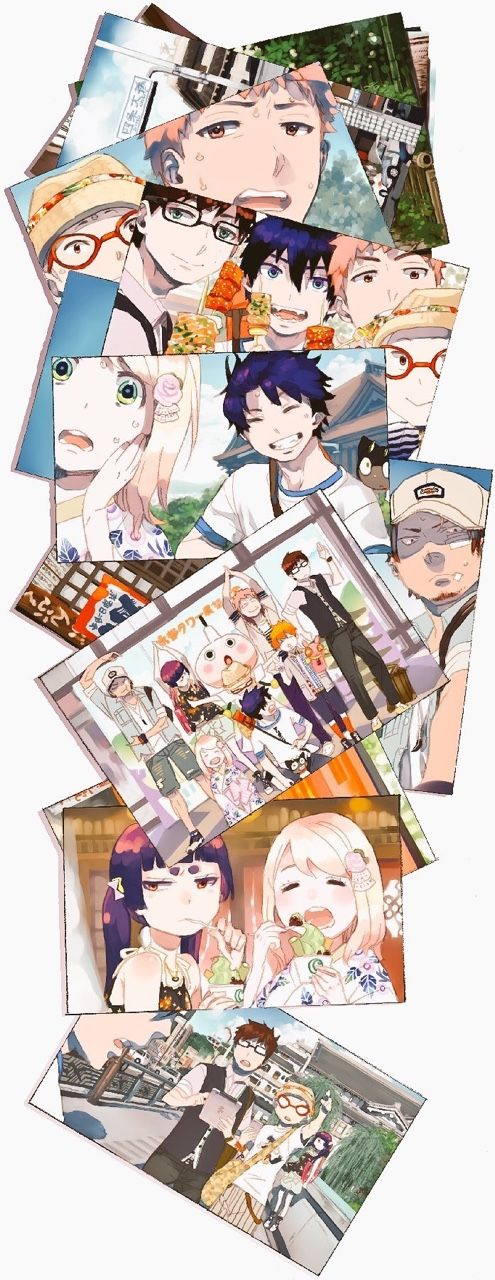 """I think i was the only one to be happy when Shiemi said """"FRIENDS forever"""" , Rin deserves someone better !"""