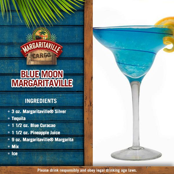 We're giving you the Margarita flavor for today... Blue Moon Margaritaville®