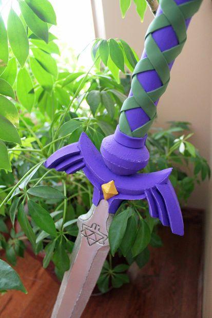 Foam Link's Master Sword from The Legend of Zelda: Hyrule Warriors Tutorial