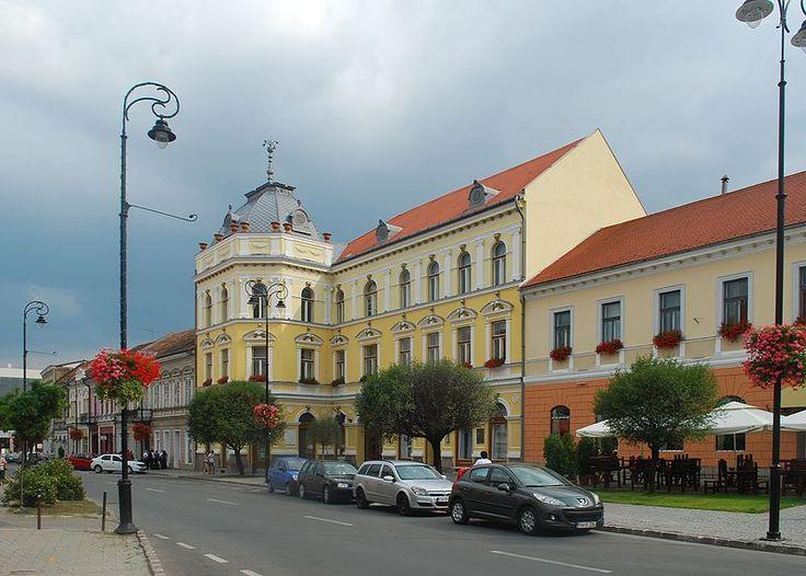 Primăria Sfântu Gheorghe, corp A, strada 1 Decembrie 1918 2, Sfântu Gheorghe