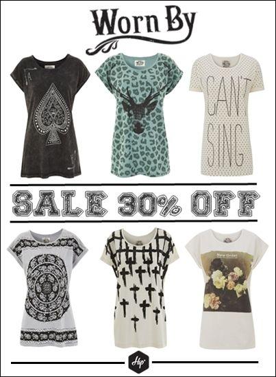 Γυναικεία t-shirts Worn By -30% έκπτωση!  #Hip #Hipyourteez #Winter #Sales #Worn_By #Womens #Tshirts