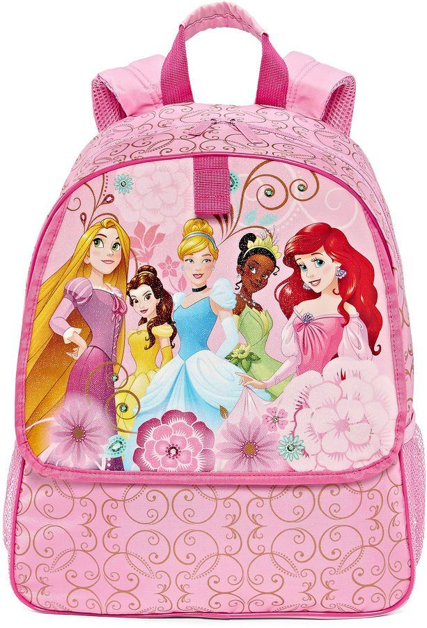 Pin for Later: 75 Backpacks For Disney Lovers of Any Age Disney Princess Backpack Disney Princess Backpack ($30)