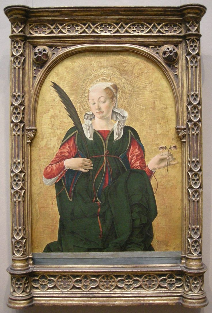 la nostra Santa Lucia preferita è senza dubbio quella di #DelCossa alla @ngadc