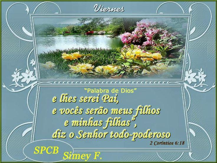 Salmos - Proverbios e passagens da Bíblia: 2 Coríntios 6:18