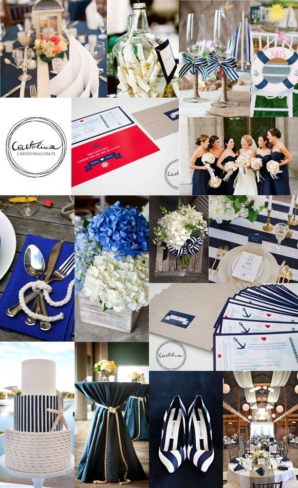 inspiracje morskie bilet do szczęścia #ślub #morski #zaproszenia #bilet wedding invitation