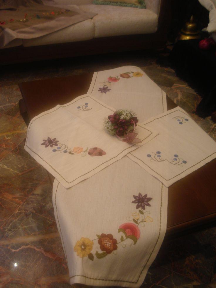 crewel nakışı - handmade - embroidery - nakış - el işi