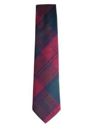 Lindsay Tartan Tie in Pure New Wool