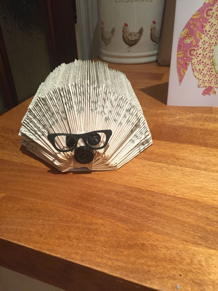 How To Make A Book Hedgehog : Images about book folding on pinterest patterns