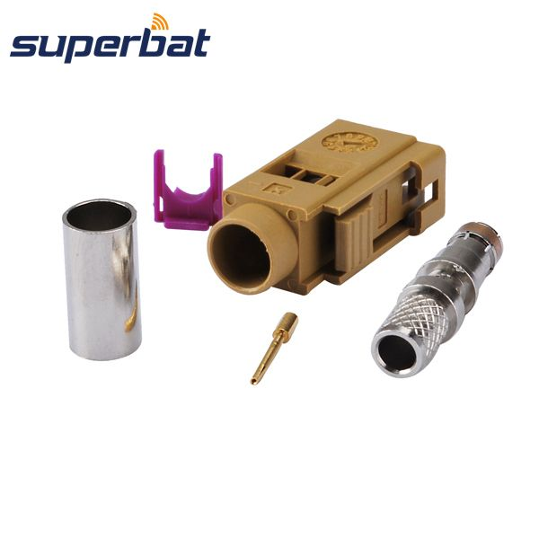 >> Click to Buy << Superbat RF Coax connector Fakra SMB K female Jack crimp LMR195 RG58 cable RF connector #Affiliate