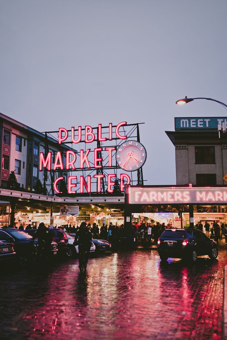 Pike Street Market, Seattle WA