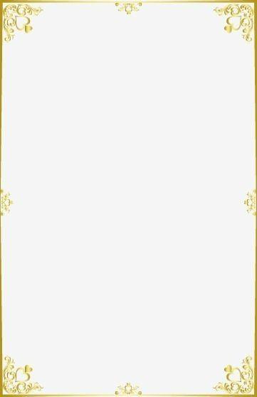 Moldura Detalhes Dourados Molduras Para Convites De Casamento Molduras Para Convites Molduras Douradas