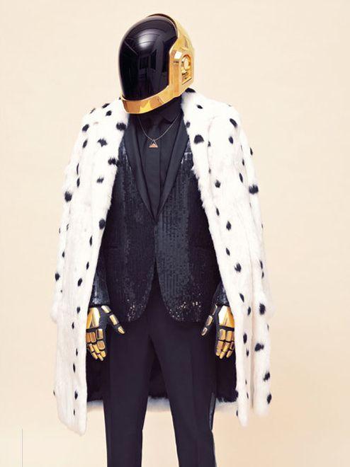 Vogue Daft Punk - we wish Daft Punk were playing at our house!
