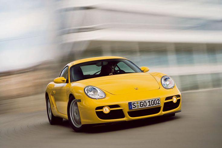 Porsche Cayman Cupe 2007