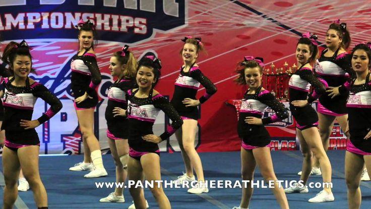 Panther Cheer Athletics | Senior Immortals Level 4 Highlight video ATC 2...