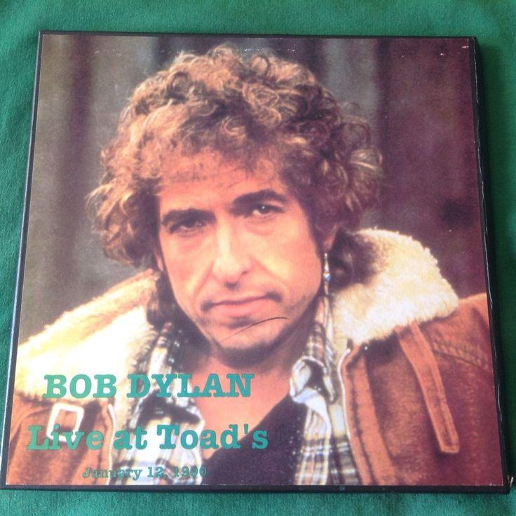 BOB DYLAN Live At Toad's Rare 4 Disc LP Box Set! Ebb Label