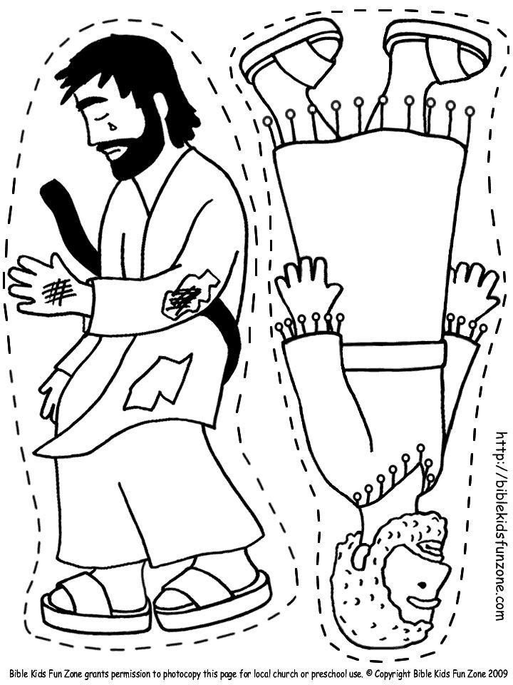 priest and hurt man lying