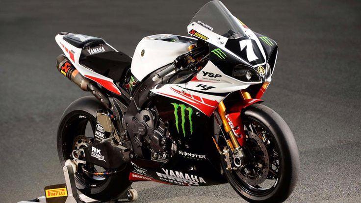 Yamaha race bike