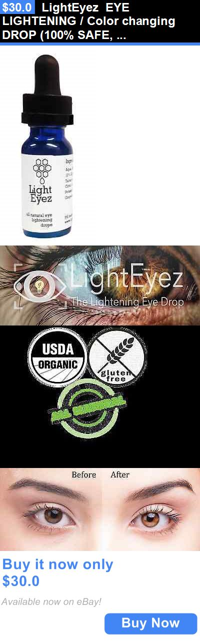 Herbal Remedies and Resins: Lighteyez Eye Lightening / Color Changing Drop (100% Safe, Organic And Natural) BUY IT NOW ONLY: $30.0