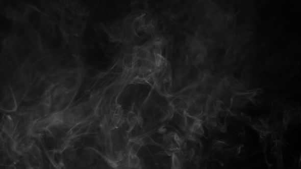 Smoke Smoke on black background. Full HD 25 fps 0:18 Sec.. Other Item Full HD