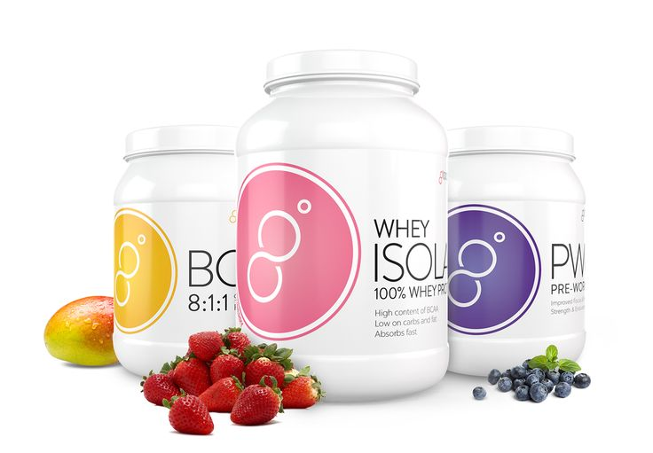 Good Balance Supplements: BCAA, PWO and Whey Isolate Protein Powder