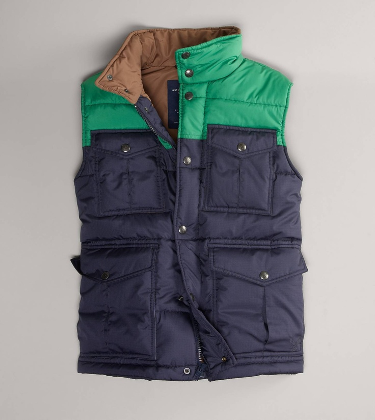 Knit Sweaters Urban Dictionary : Aeo nylon mac jacket vests puffer vest and american