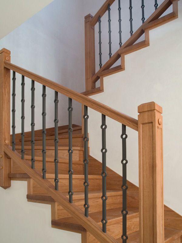 Torneados fuentespalda barandillas y escaleras de madera for Gradas de madera para escaleras