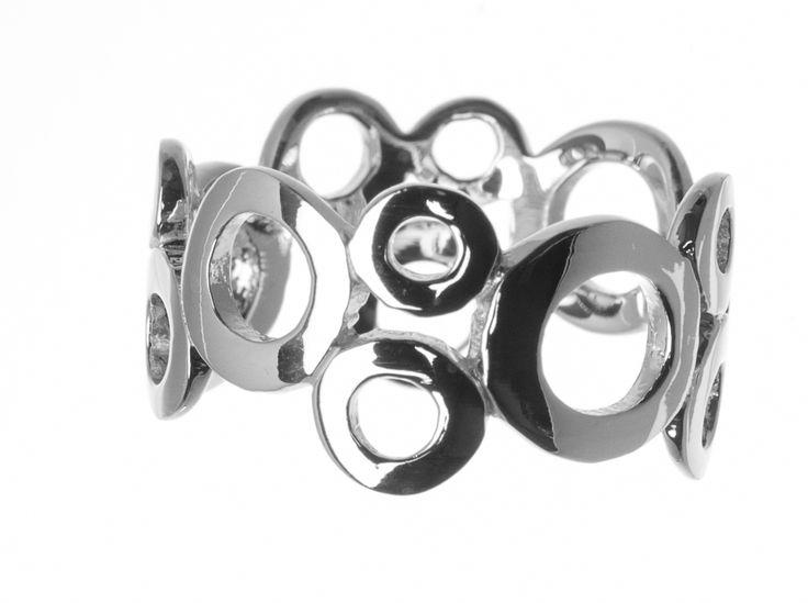 Anillo NOMAD colección Esentyal en plata primera ley modelo Circulo
