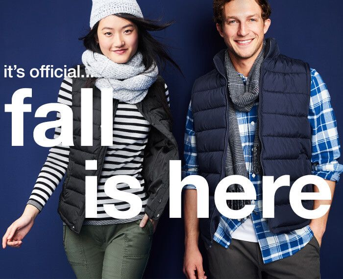 Fall is here (Gap Outlets)