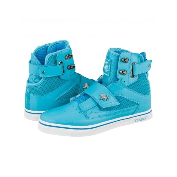 4643dd22d Vlado Footwear Atlas High Skate Shoes Turquoise ( 120) ❤ liked on ...
