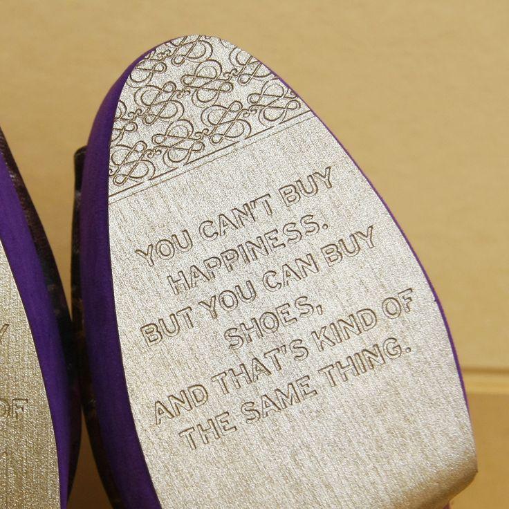 One of the keys to be happy is buy shoes! #sachlirene #sachlirenewondersole #wondersole