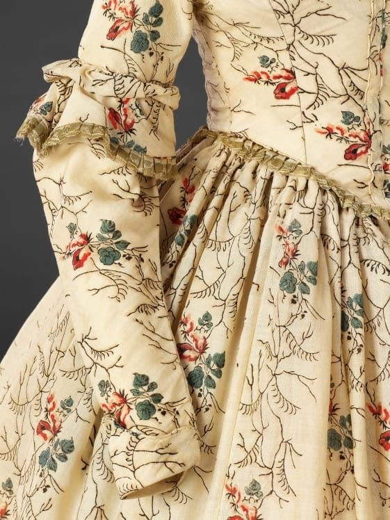 Early 1840s- that sleeve ruffle thing we think is so hip and cool started nearly two hundred years ago #nuthinunderthesun