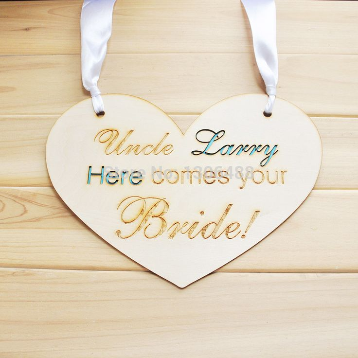Find More Event & Party Supplies Information about Personalized wedding sign, Chair signs, Rustic Wooden Heart Signs, Personalized Engraved Wedding Signing 8colors options,High Quality wedding garter,China wedding bows for chairs Suppliers, Cheap chair music from PersonalizeMeJewelry on Aliexpress.com