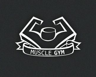 muscle gym Logo design - Price $350.00