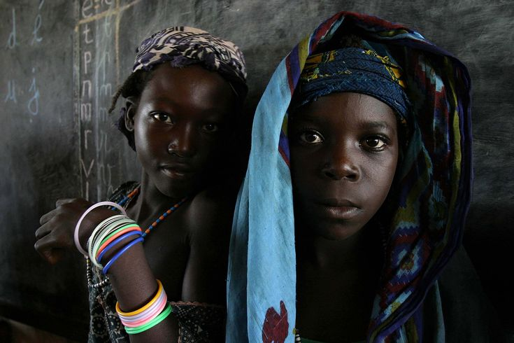 School girls in the Central African Republic