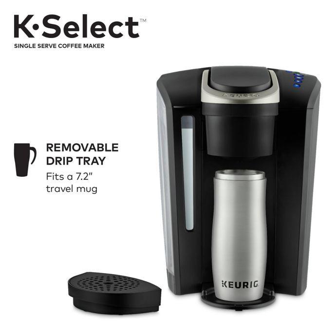 Keurig K Select Single Serve K Cup Pod Coffee Maker Bed Bath Beyond Keurig Coffee Maker Single Serve Coffee Makers