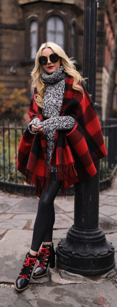Check Cape and accents of red