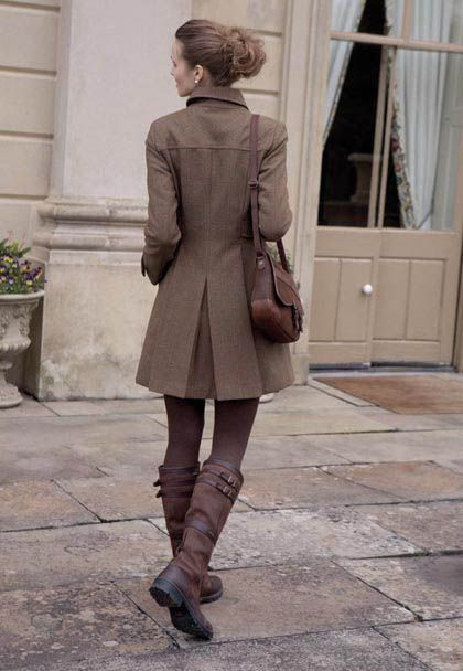 Dubarry Hawthorn coat & Durberry boots...love...