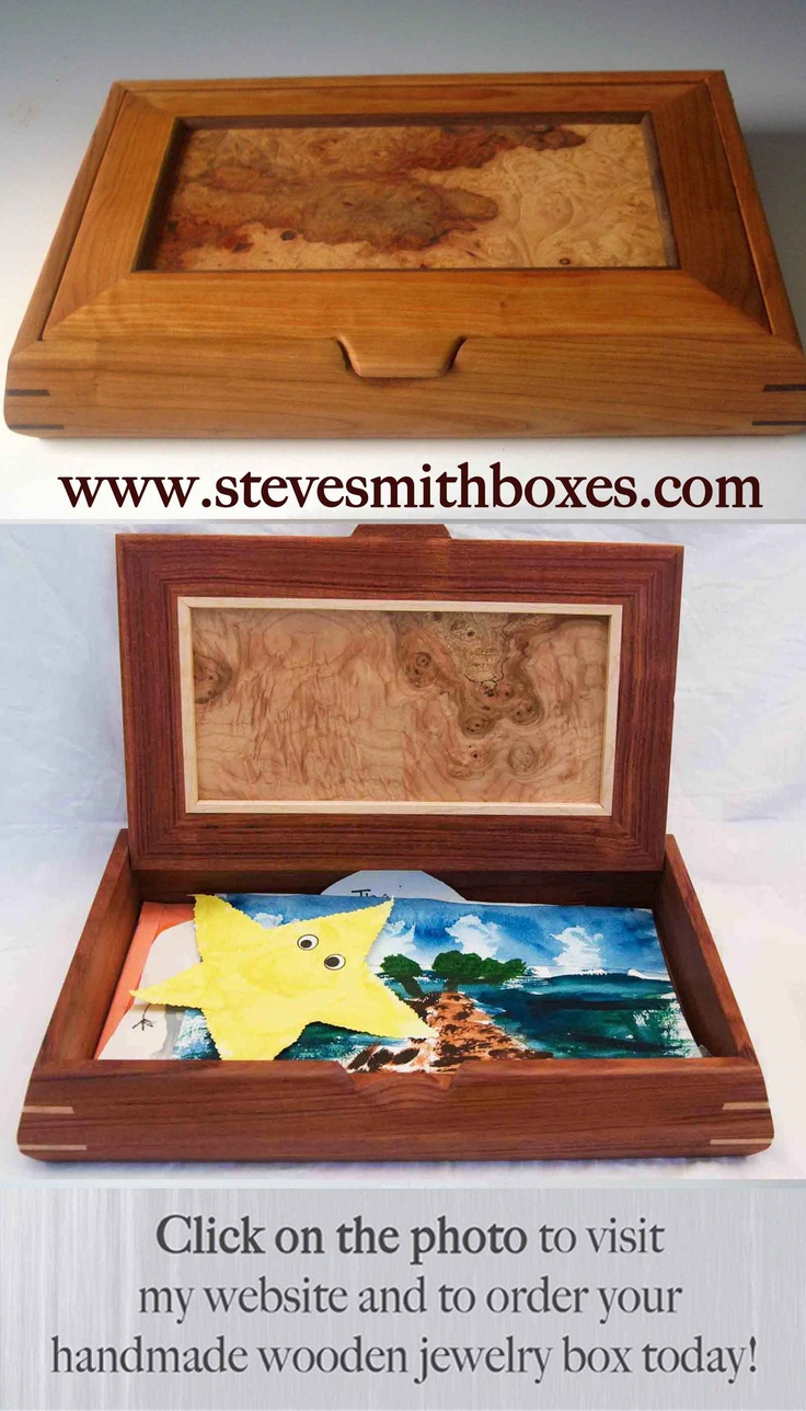 15 best images about steve smith boxes on pinterest for Handmade wooden jewelry box